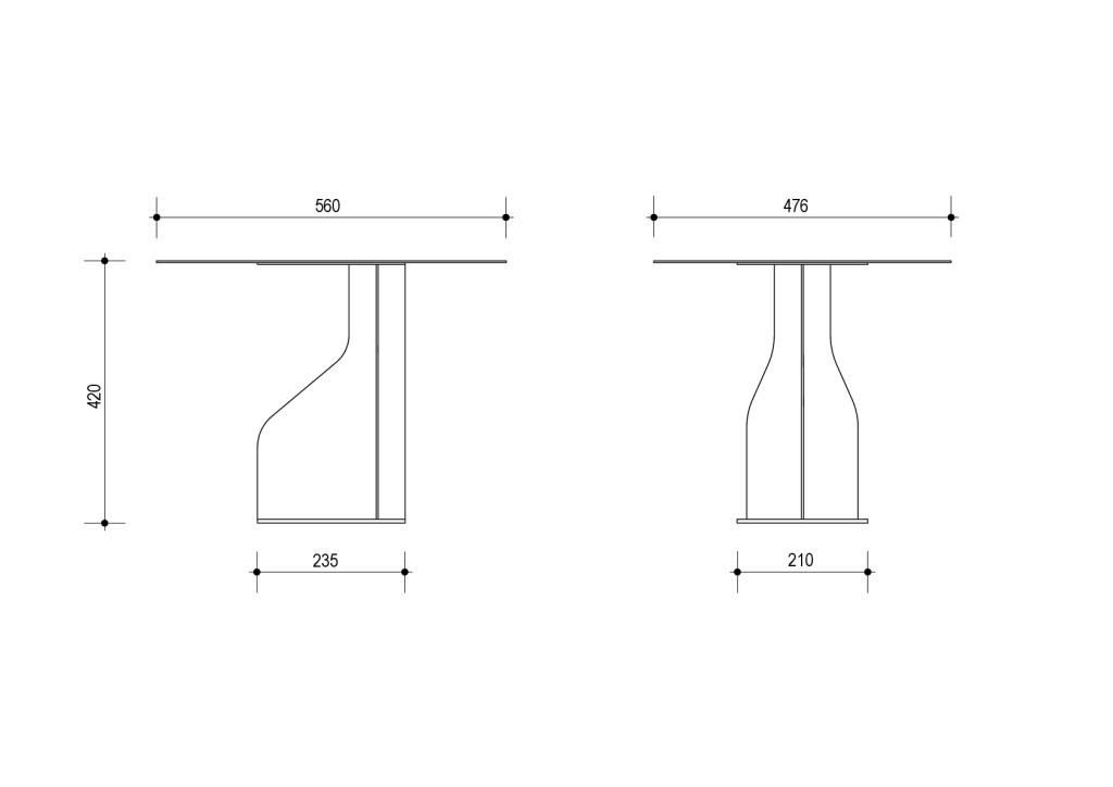 Чертеж столик средний-001