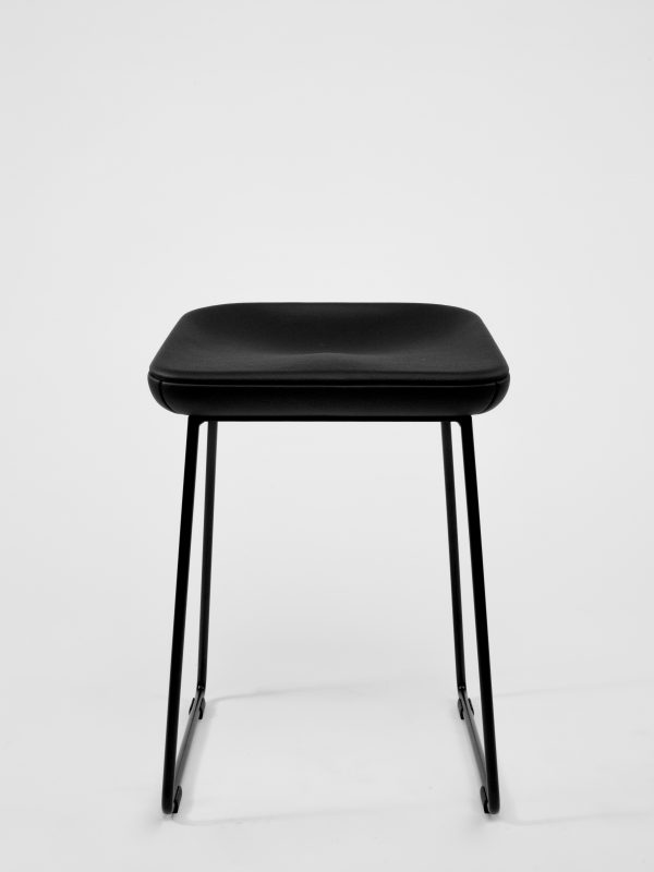 Leather Stool Wave